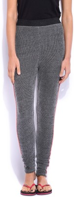 Jn Joy Slim Fit Women's Grey Trousers