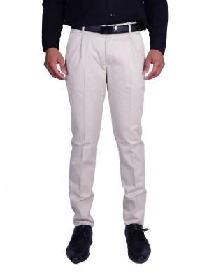 Machu Regular Fit Men's Beige Trousers