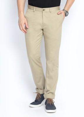 SUITLTD Skinny Fit Men's Brown Trousers