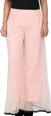 Dieu Regular Fit Women's Pink Trousers