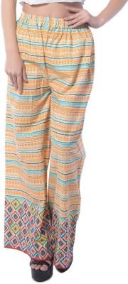 Stri Regular Fit Women's Orange Trousers