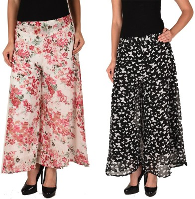 2 Day Regular Fit Women's Multicolor Trousers at flipkart