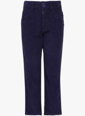 612 League Regular Fit Boy's Dark Blue Trousers