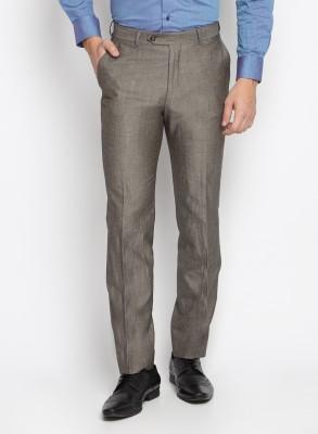 SUITLTD Slim Fit Men's Beige Trousers