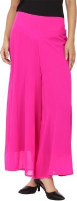 Lambency Regular Fit Women's Pink Trousers