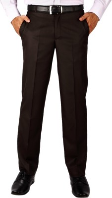 FranklinePlus Regular Fit Men,s Brown Trousers