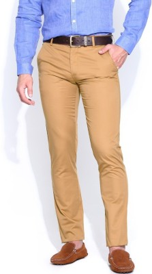 Indian Mad Slim Fit Men's Beige Trousers