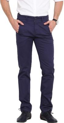 Exitplay Slim Fit Men's Dark Blue Trousers