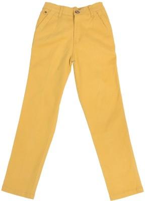 Boyhood Slim Fit Boy's Gold Trousers