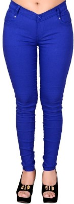 LGC Slim Fit Women's Blue Trousers