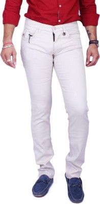 Rusty Cooper Regular Fit Men's Cream Trousers