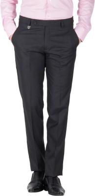 Mustin Regular Fit Men's Blue Trousers