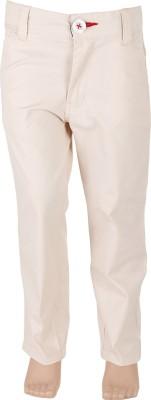 Ice Boys Slim Fit Boy's Cream Trousers
