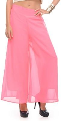 shreya Regular Fit Women's Pink Trousers