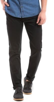 Prym Regular Fit Men's Black Trousers
