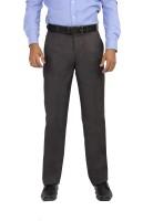 Modo Regular Fit Mens Grey Trousers