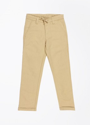 United Colors of Benetton Boy's Beige Trousers
