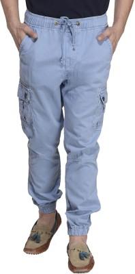 MONTEIL & MUNERO Regular Fit Men,s Blue Trousers
