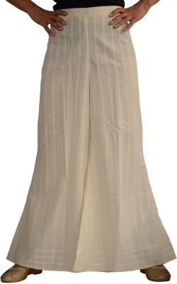 Jupi Regular Fit Women,s Cream Trousers
