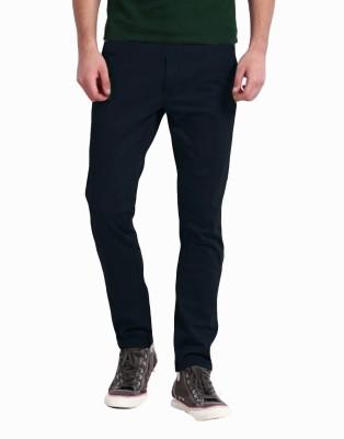 Perfect Regular Fit Men's Dark Blue Trousers