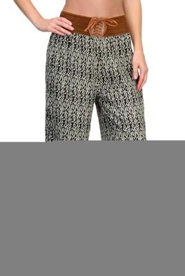 Fasnoya Regular Fit Women's Multicolor Trousers