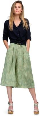 Yolo Designs Regular Fit Women's Green Trousers