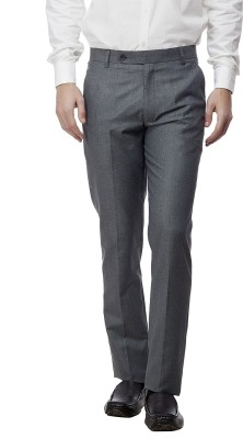 Divini Slim Fit Men's Grey Trousers