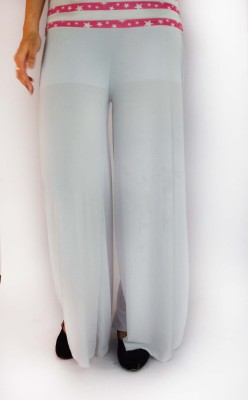 B VOS Regular Fit Women's White Trousers