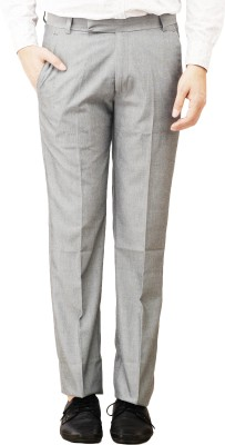 Histeria Regular Fit Men's Grey Trousers
