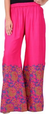 Saiarisha Regular Fit Women's Pink Trousers