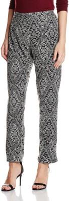 Atayant Regular Fit Women's Black Trousers