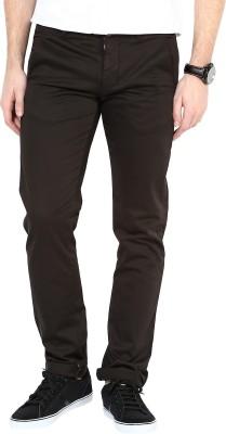 3Concept Slim Fit Men's Black Trousers