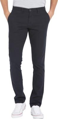 Globus Regular Fit Men's Dark Blue Trousers