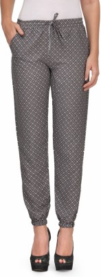 Kiosha Slim Fit Women's Grey Trousers