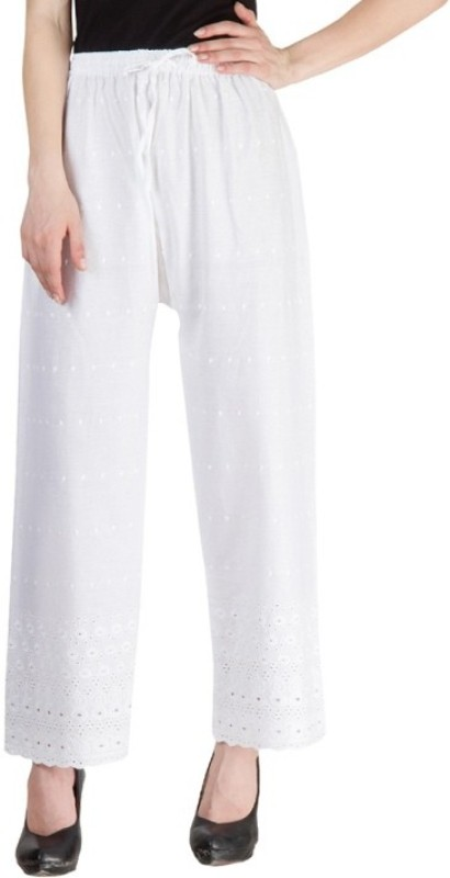 Hardys Slim Fit Women's White Trousers