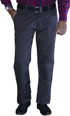 Studio Nexx Regular Fit Men's Grey Trousers