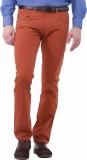 Jogur Slim Fit Men's Red Trousers