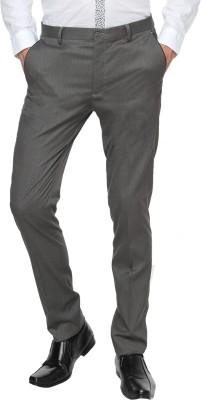Arrow Newyork Skinny Fit Men's Grey Trousers