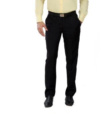 Boy Adam Slim Fit Men's Black Trousers