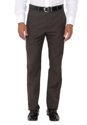 Springfield Slim Fit Men's Brown Trousers