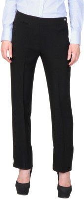 Allen Solly Regular Fit Women,s Brown Trousers
