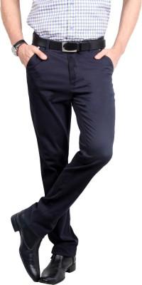 American Chinos Regular Fit Men's Dark Blue Trousers