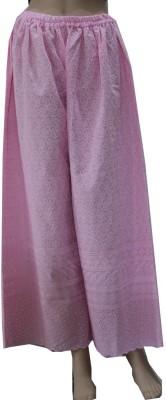 matelco Regular Fit Women's Pink Trousers