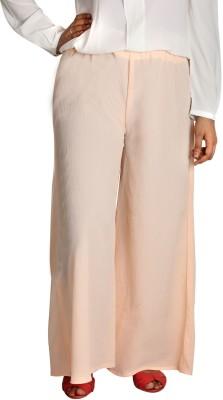 Shahfali Regular Fit Women's Pink Trousers