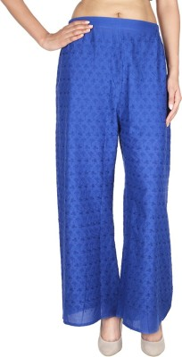 MAYRAH FASHIONS Regular Fit Women's Blue Trousers