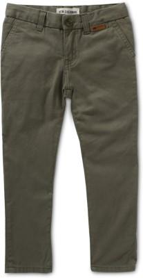 Ben Sherman Regular Fit Boy's Light Green Trousers