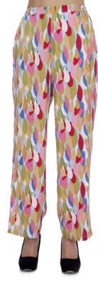 Zaivaa Regular Fit Women's Pink Trousers