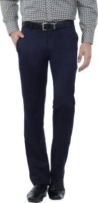 Hideouts Regular Fit Men's Dark Blue Trousers