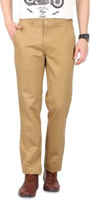 FR Slim Fit Men's Gold Trousers