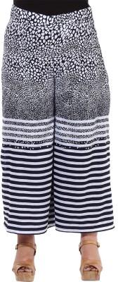 Oxolloxo Regular Fit Women's Blue Trousers at flipkart